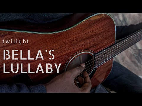 Download Bella's Lullaby Twilight Soundtrack Guitar Cover free
