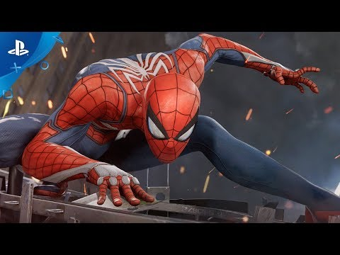 Marvel's Spider-Man (PS4) 2017 E3 Gameplay