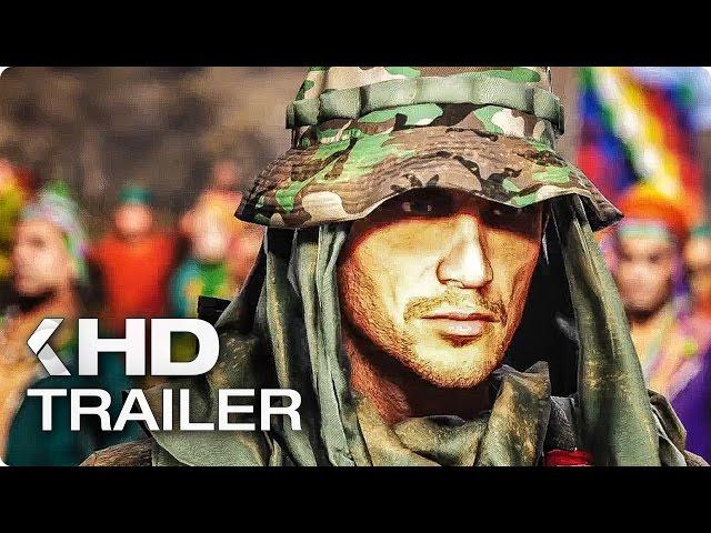 GHOST RECON WILDLANDS Open World Trailer German Deutsch (2017)