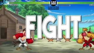 Street Cock Fighter   RYU vs KEN  Street Fighters 5 Parody