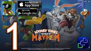 Looney Tunes World Of Mayhem Android iOS Walkthrough - Gameplay Part 1
