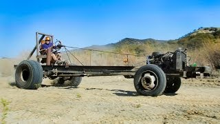 Motorhome Mashup Part 2: Monster Go-Kart Challenge! - Dirt Every Day Ep. 28