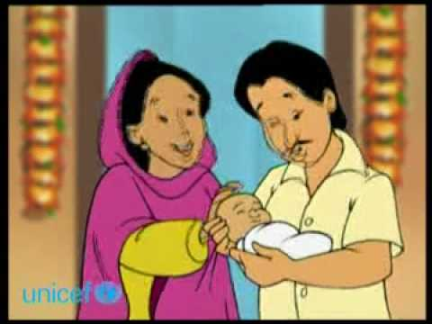 Meena spot: Birth registration (Bangla)