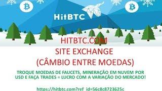 BITCOIN vs HITBTC = Troque suas várias moedas e lucre