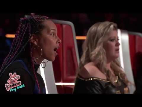 "The Voice Season 14 - SHARANE CALISTER- Singing ""Make it rain""   Blind Audition 2018 Full."