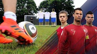 JABULANI Free Kick Challenge | Ronaldo