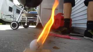 How to make an electric match/detonator (squib) [Pingpong balls and Flashpowder/blackpowder]