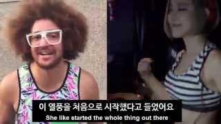 Redfoo's message to DJ Soda (레드푸가 DJ 소다에게 전하는 메시지)