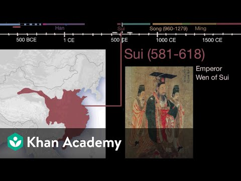 Chinese Imperial Dynasties | World History | Khan Academy