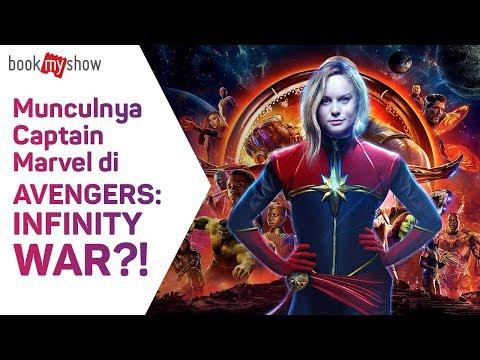 Munculnya Captain Marvel di Avengers: Infinity War? - BookMyShow Indonesia