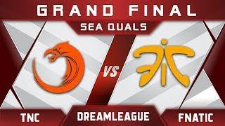 Fnatic vs TNC Grand Final DreamLeague Major 2017 SEA Highlights Dota 2