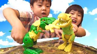 恐竜 おもちゃ ねんど Dinosaur GAME WRECK