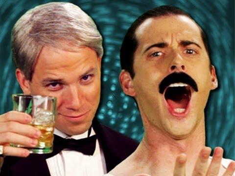 Frank Sinatra vs Freddie Mercury Epic Rap Battles of History Season 2
