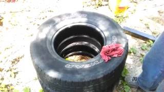Ej life hacks easy tire water removal