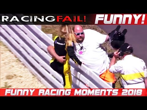 FUNNY RACING 3 Fails Hilarious Situations and Commentaries of 2018 Compilation