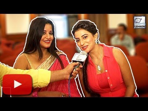 Xxx Mp4 Monalisa Akshara Singh S Most FUNNY Interview Lehren Bhojpuri 3gp Sex