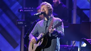 Ed Sheeran Performs Castle On The Hill