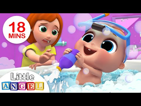 Xxx Mp4 Baby Bath Time Bath Song Kids Songs And Nursery Rhymes By Little Angel 3gp Sex