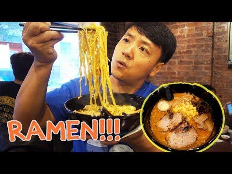 BEST Ramen Noodles in New York New York City Ramen Noodle Tour Part 2