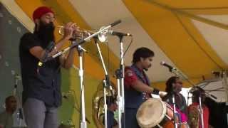Brooklyn's Red Baraat: NYC Music With a Punjabi Beat