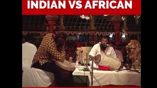 Indian vs African - Epic Instrument Battle - Watched anything like this???