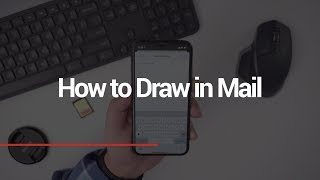 How to Draw in Mail App