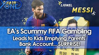EA's Scummy FIFA Gambling Leads To Kids Emptying Parents' Bank Account... SURPRISE!