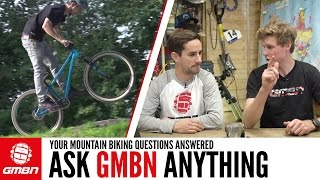 How To Improve Your Manuals & Wheelies... | Ask GMBN Anything About Mountain Biking