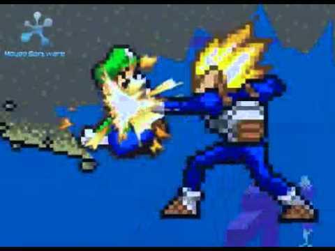 goku vs mario bros 2 the revenge part 25