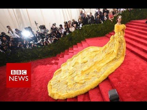 Xxx Mp4 The Woman Behind Rihanna S Yellow Dress BBC News 3gp Sex