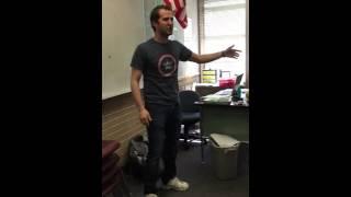 Mr.Brooks raps