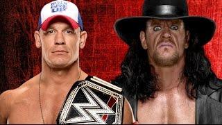 John Cena vs The Undertaker Wrestlemania 33 Promo HD
