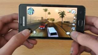 Samsung Galaxy S2 Super Nexus 4.4.2 KitKat GTA San Andreas Gameplay Trailer