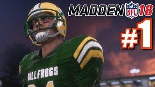 THE BEGINNING! | Madden 18 | Longshot #1