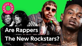 """What Post Malone's """"rockstar"""" Says About The Evolution Of Rockstars 