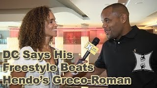UFC 173's Daniel Cormier Says His Freestyle Wrestling Is Better Than Hendo's Greco-Roman