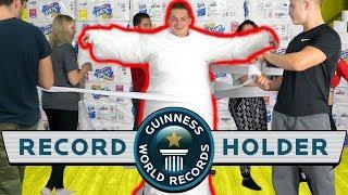 Worlds Largest Toilet Paper Mummy