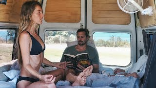 VAN LIFE: Morning Routine Living In A Van With a Toddler