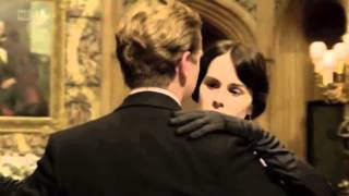 Downton Abbey || Mary and Matthew Dance and Kiss