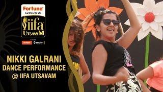 Nikki Galrani about her Live Dance Performance at IIFA | Behind The Scenes | IIFA Utsavam 2016