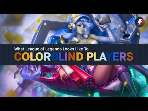 Xxx Mp4 What League Of Legends Looks Like To Colorblind Players 3gp Sex