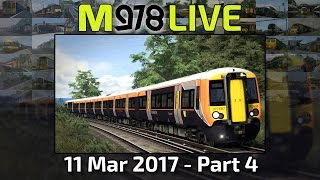 MoleMainline Anew! | Train Simulator 2017 | M978 Live