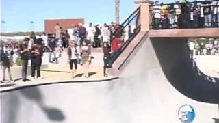Skate Park Grand Opening Santa Clarita, CA