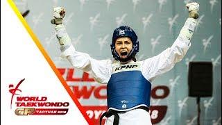 Taoyuan 2018 World Taekwondo GP-Final [female –57kg] Irem YAMAN(TUR) vs Raheleh ASEMANI(BEL)