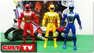 anh em siêu nhân cơ động | đồ chơi trẻ em | Go Onger power rangers kid toy for childrens