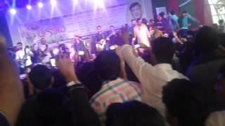 নারায়নগঞ্জ কলেজ এর নবিন বরন ২০১৫....ফাটাফাটি