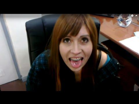 mi piercing en la lengua