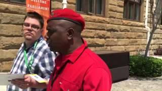 SONA 2016: GODRICH GARDEE, EFF General Secretary