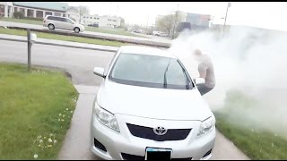 DELIVERY DRIVER SMOKE BOMB!! - HOW TO PRANKS