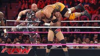 Ryback & The Dudley Boyz vs. Rusev, Sheamus & King Barrett: Raw, October 26, 2015